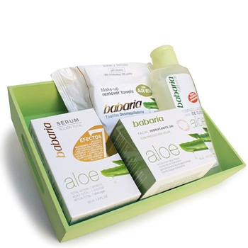Babaria Cesta Aloe 50 ml + 3 Productos de Regalo