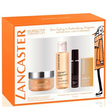 Suractif Comfort Lift Nourishing Rich Day Cream SPF15 Estuche de LANCASTER