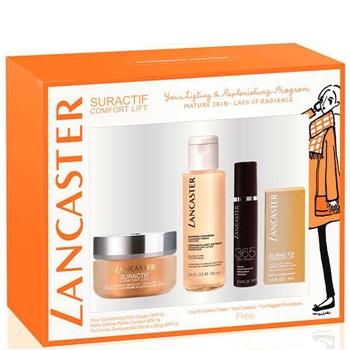 LANCASTER Suractif Comfort Lift Nourishing Rich Day Cream SPF15 Estuche 50 ml + 3 Productos de Regalo