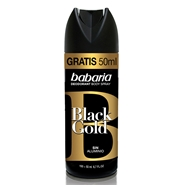 Desodorante Body Spray Black Gold de Babaria