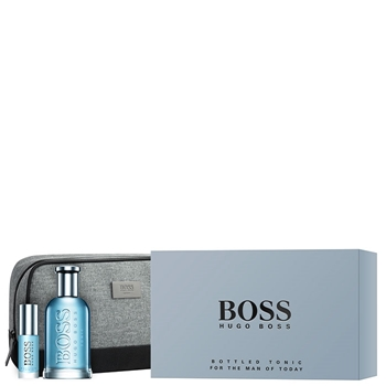 Hugo Boss BOSS BOTTLED TONIC Estuche 100 ml Vaporizdor + 8 ml + Neceser