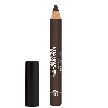 DEBORAH Eyeshadow & Kajal Pencil Mat Nº 10