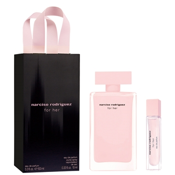 Narciso Rodríguez FOR HER Estuche 100 ml Vaporizador + 10 ml