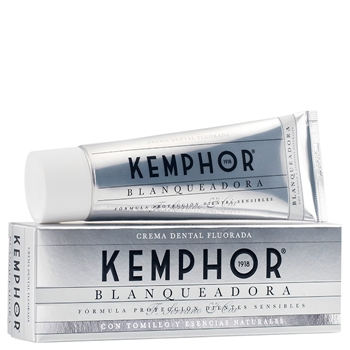Blanqueadora Crema Dental Fluorada de Kemphor