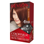 COLORSILK Beautiful Color Nº 31 Castaño Oscuro Cobrizo de Revlon