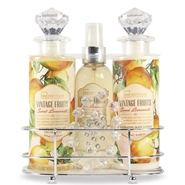 Set de Baño Vintage Fruits de IDC