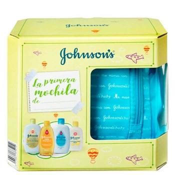Johnson's Baby Mi Primera Mochila Azul