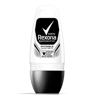 Invisible Black & White Roll On Men de Rexona