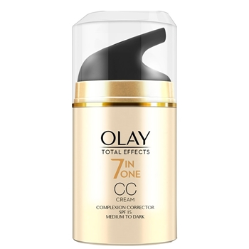 Olay Total Effects CC Cream  50 ml Medio-Oscuro