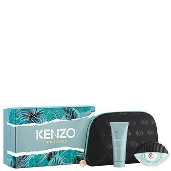 KENZO KENZO WORLD Estuche 75 ml Vaporizador + Body Lotion 75 ml + Neceser