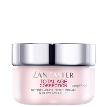 Total Age Correction Amplified Retinol-In-Oil Night Cream & Glow de LANCASTER