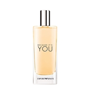 REGALO VAPORIZADOR 15 ML BECAUSE IT'S YOU de Armani
