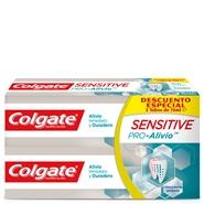 Sensitive Pro-Alivio Dentífrico Duplo de Colgate