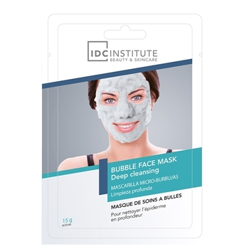 IDC INSTITUTE BUBBLE FACE MASK Deep Cleansing 1 Unidad