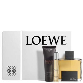 LOEWE SOLO LOEWE Estuche 100 ml Vaporizador + 15 ml + After Shave Bálsamo 75 ml