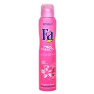 Desodorante Pink Passion de Fa