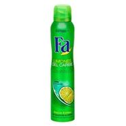 Desodorante Limones del Caribe de Fa