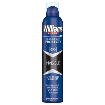 Williams DÉODORANT PROTECT+ INVISIBLE 48H 200 ml