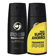 Desodorante Body Spray Gold Temptation Duplo de AXE