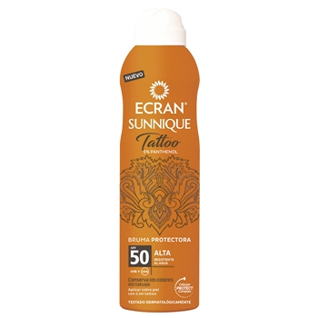 Sunnique Tattoo Bruma Protectora SPF50 de Ecran