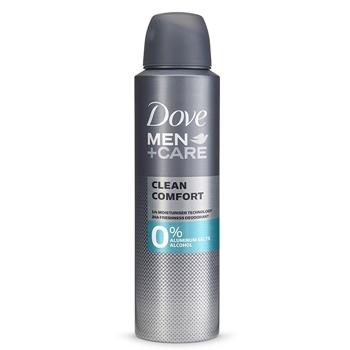 Men+Care Clean Comfort 0% Sales de Aluminio de DOVE