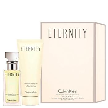 Calvin Klein ETERNITY Estuche 30 ml Vaporizador + Gel de Ducha 100 ml