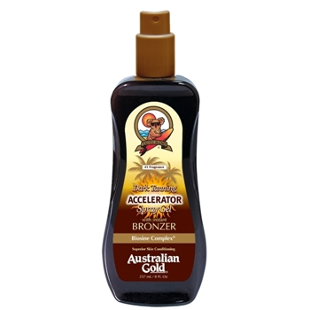 Australian Gold Accelerator Dark Tanning Spray Gel 237 ml