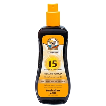 Australian Gold Spray Oil Sunscreen SPF15 237 ml