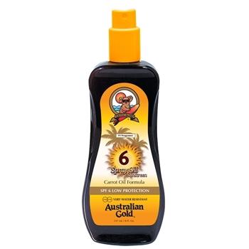 Spray Oil Sunscreen SPF6 de Australian Gold