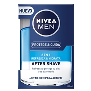 Protege & Cuida After Shave 2 en 1 de NIVEA MEN