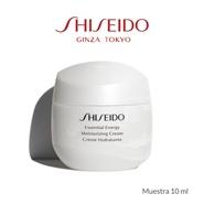 REGALO MINIATURA 10ML ESSENTIAL ENERGY MOISTURIZING CREAM de Shiseido