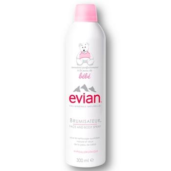 Evian Eau Minérale Naturelle Spray Bebé 300 ml