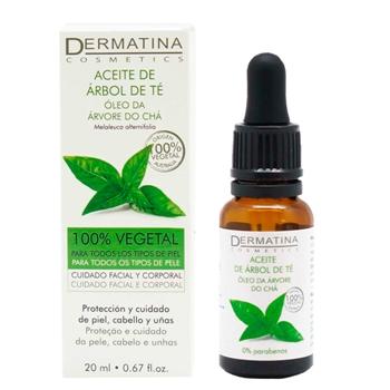 Aceite de Arbol de Té Vegetal de Dermatina