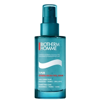 BIOTHERM HOMME T-PUR Refining Micro-Peel Serum Soin Correcteur 50 ml