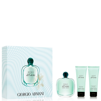 Armani ACQUA DI GIOIA Estuche 100 ml Vaporizador + Gel de Ducha 75 ml + Body Lotion 75 ml