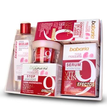 Babaria Crema Regeneradora Rosa Mosqueta Estuche 4 Productos