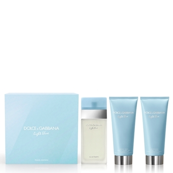 Dolce & Gabbana LIGHT BLUE Estuche 100 ml Vaporizador + Body Cream 100 ml + Gel de Ducha 100 ml