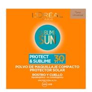 Protect & Sublime Polvo Compacto de L'Oréal