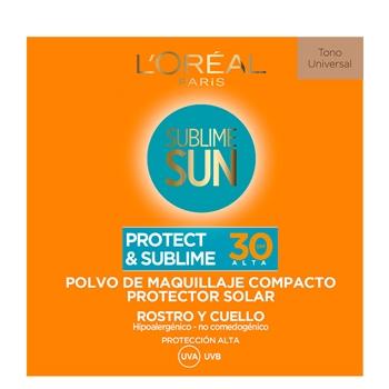L'Oréal Protect & Sublime Polvo Compacto Tono Universal