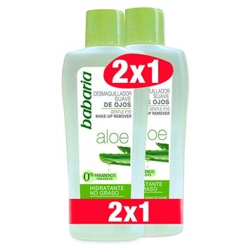 Babaria Desmaquillador Suave Aloe 200 ml + 200 ml