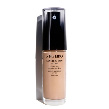 Shiseido Synchro Skin Glow Luminizing Fluid Foundation SPF20 N3 Neutral