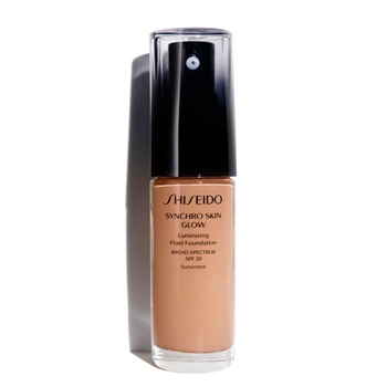 Shiseido Synchro Skin Glow Luminizing Fluid Foundation SPF20 R5 Rose