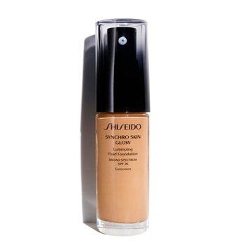 Shiseido Synchro Skin Glow Luminizing Fluid Foundation SPF20 G5 Golden