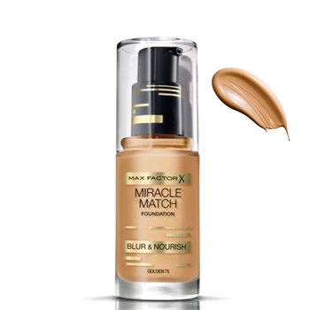 Max Factor Miracle Match Foundation Nº 75 Golden
