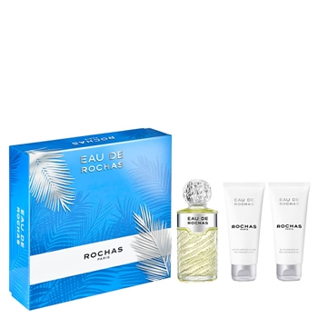 Rochas EAU DE ROCHAS Estuche 100 ml Vaporizador + Gel de Ducha 100 ml + Body Lotion 100 ml