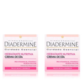 Diadermine Crema Hidratante Nutritiva 50 ml + 50 ml