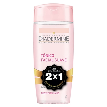 Diadermine Tónico Limpiador Suave 200 ml + 200 ml