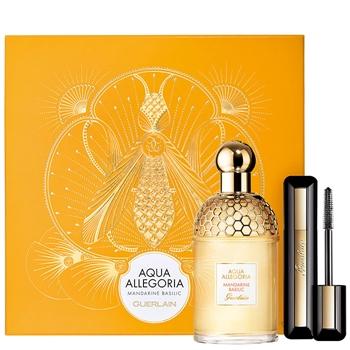 Guerlain Aqua Allegoria Mandarine Basilic Estuche 125 ml Vaporizador + Máscara Cils D'Enfer