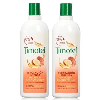Timotei CHAMPÚ ACEITE DE ARGÁN 400 ml + 400 ml