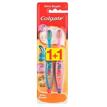 Colgate Cepillo Dental 2-6 Años Duplo 2 Unidades